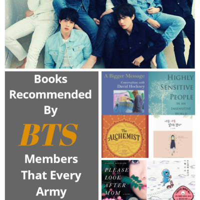 Books Recommended By Bts Members That Every Army Should Read 2021