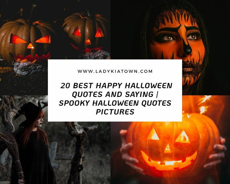 20 Best Happy Halloween Quotes and Saying | Spooky Halloween Quotes Pictures